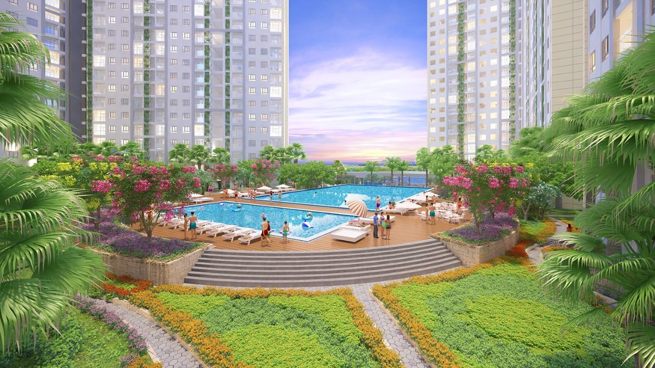 Tiện ích nội khu căn hộ City Gate 3 (NBB Garden 3)